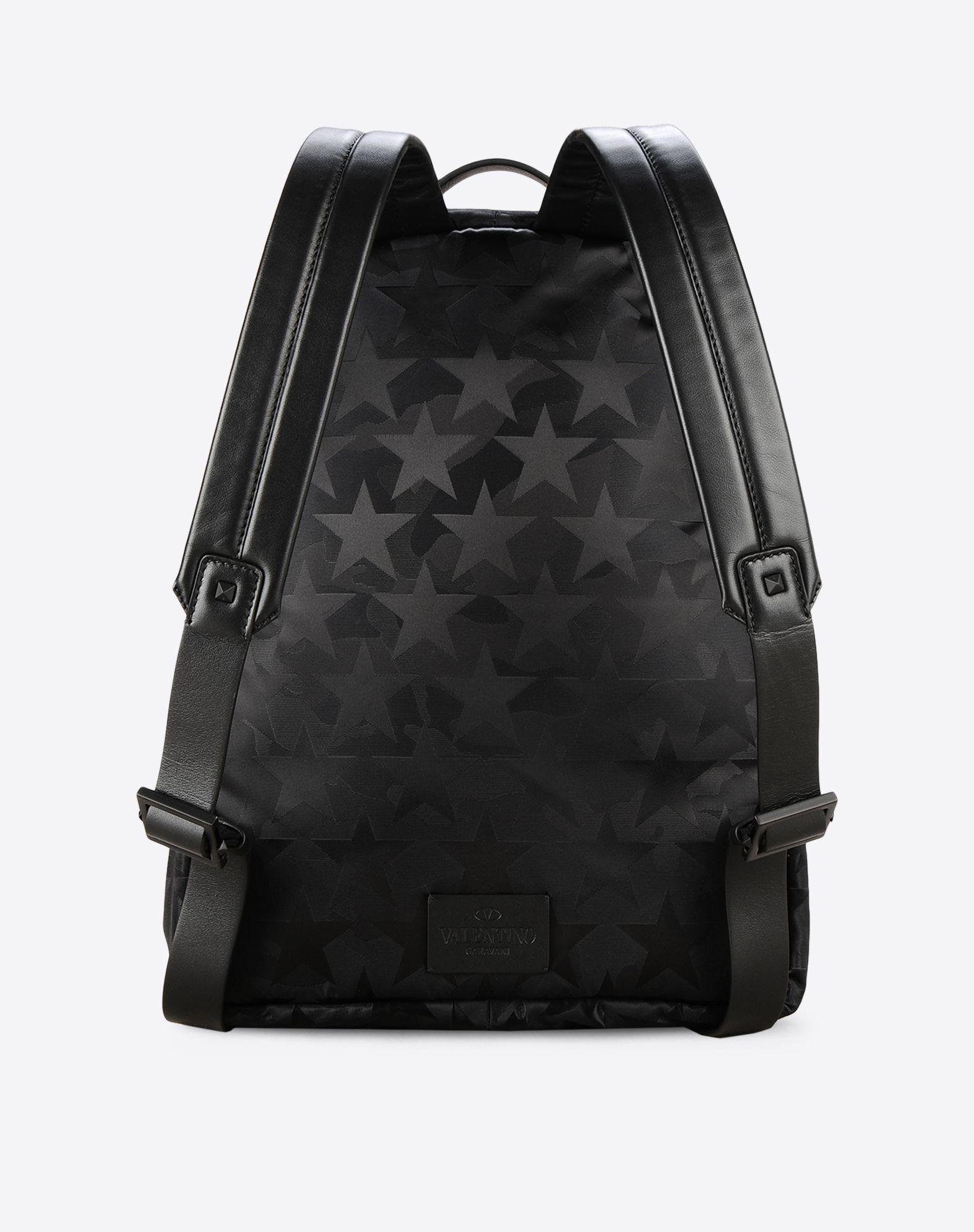 VALENTINO Techno fabric Zip closure External pocket  45322020if