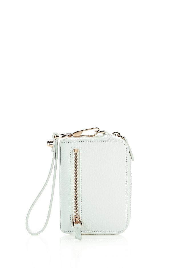 ALEXANDER WANG sale-w-accessories LARGE FUMO IN SOFT PEBBLED PEROXIDE WITH ROSE GOLD