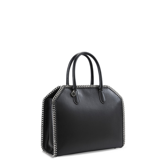 Black Falabella Box East West Tote