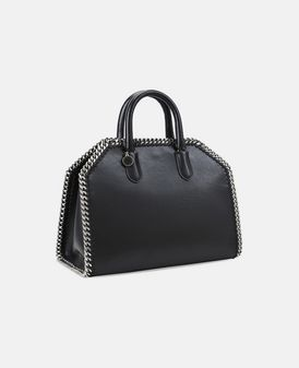 Black Falabella Box Handbag