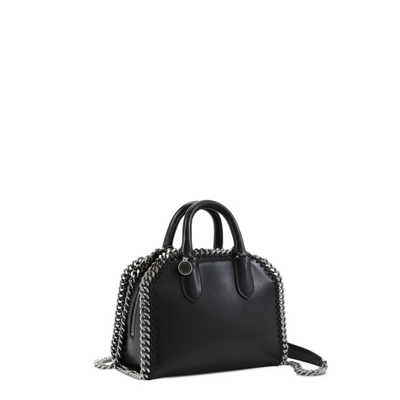 Black Falabella Box Mini Bag
