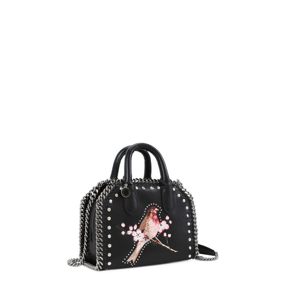 Black Falabella Box Bird Mini Bag