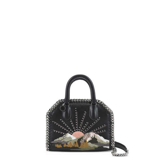 Black Falabella Box Nashville Mini Bag