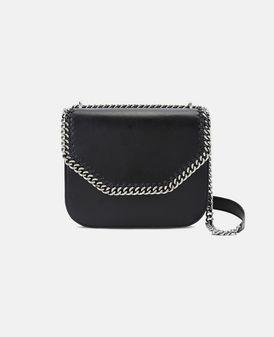 Black Falabella Box Shoulder Bag