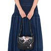 STELLA McCARTNEY Black Falabella Box Bird Shoulder Bag Cross Body D a