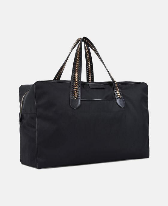 STELLA McCARTNEY Black Falabella GO Travel Bag Travel Bag D h