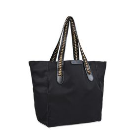 Black Falabella GO Shoulder Bag