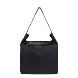 STELLA McCARTNEY Shoulder Bag D Black Falabella GO Hobo Bag f