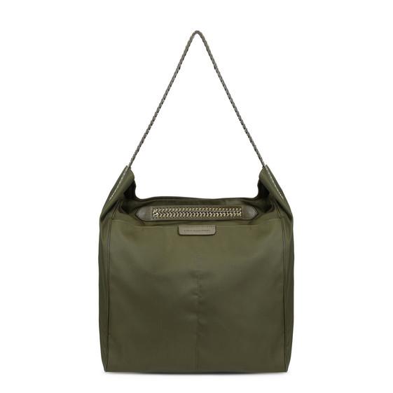 Khaki Falabella GO Hobo Bag