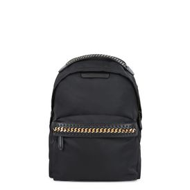 STELLA McCARTNEY Falabella Backpacks D Black Falabella GO Backpack f