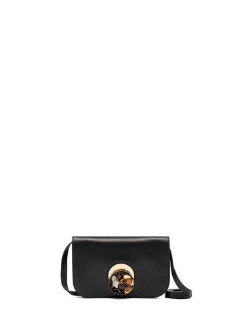 Marni POIS clutch in sheered shearling Woman