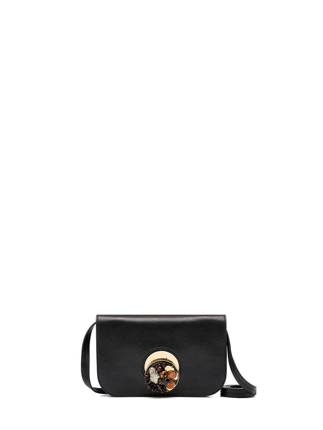 Marni POIS clutch in sheered shearling Woman - 1