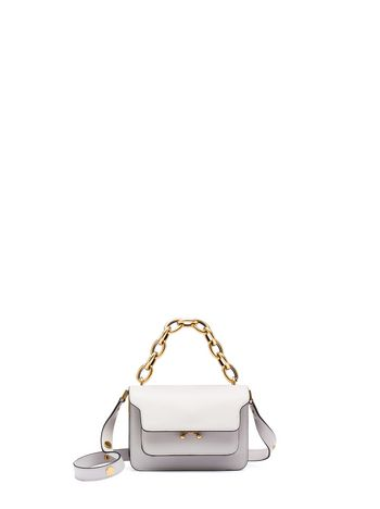 Marni Shoulder bag MINI TRUNK in calfskin  Woman