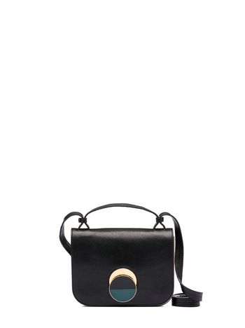Marni Shoulder bag POIS in sheered shearling Woman