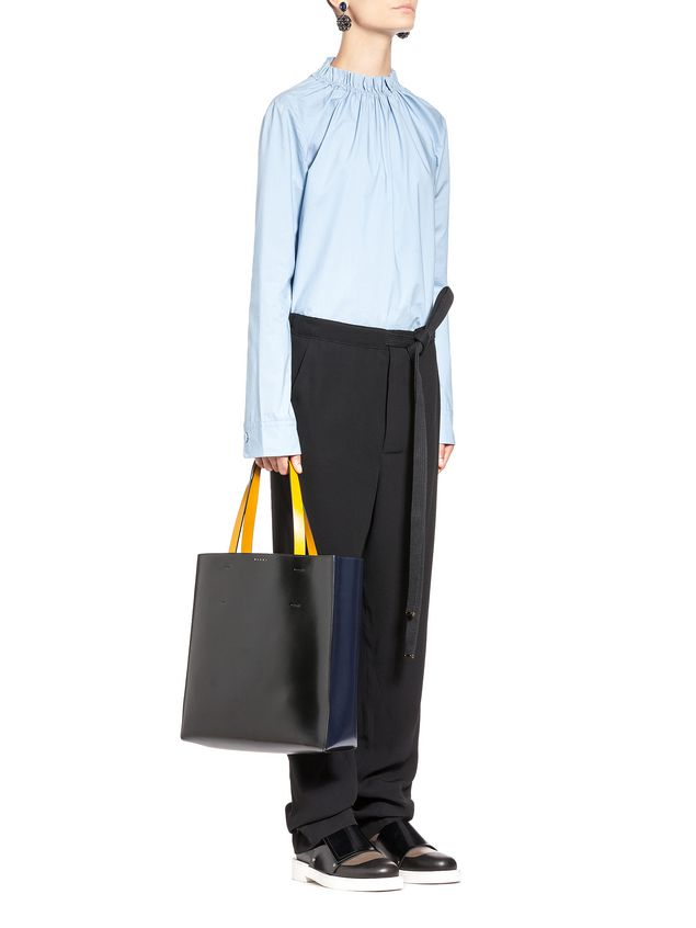 Marni Shopping bag MUSEO in calfskin  Woman - 5