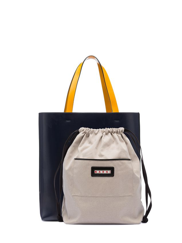 Marni Shopping bag MUSEO in calfskin  Woman - 3