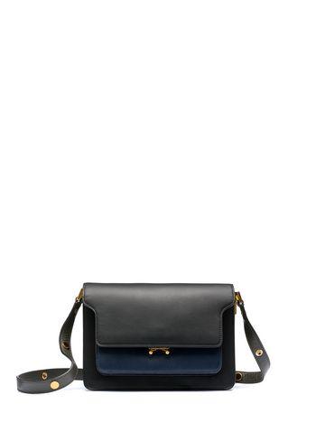 Marni Calfskin TRUNK shoulder bag  Woman