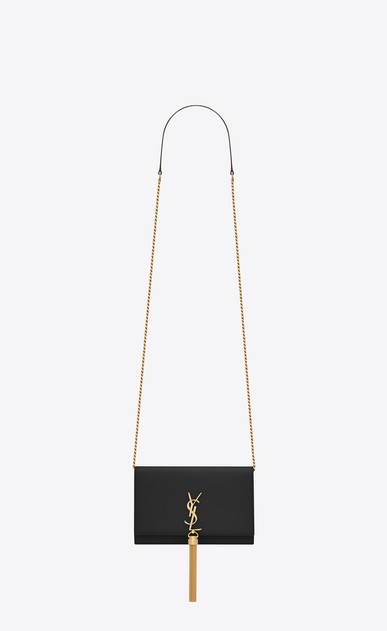 8658419837bbe SAINT LAURENT Mini bags Kate Woman KATE chain wallet with tassel in elaphe  leather V4