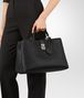 BOTTEGA VENETA MILANO '17 BAG IN NERO INTRECCIATO NAPPA Tote Bag Woman ap
