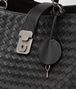 BOTTEGA VENETA MILANO '17 BAG IN NERO INTRECCIATO NAPPA Tote Bag Woman ep