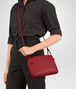 BOTTEGA VENETA CHINA RED INTRECCIATO NAPPA LEATHER NODINI BAG Crossbody bag D ap