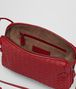 BOTTEGA VENETA CHINA RED INTRECCIATO NAPPA LEATHER NODINI BAG Crossbody bag Woman dp