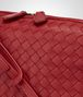 BOTTEGA VENETA CHINA RED INTRECCIATO NAPPA LEATHER NODINI BAG Crossbody bag D ep