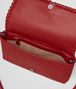 BOTTEGA VENETA CLUTCH BAG IN CHINA RED INTRECCIATO NAPPA Clutch Woman dp