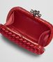 BOTTEGA VENETA KNOT IN CHINA RED INTRECCIO IMPERO, AYERS DETAILS Clutch D dp