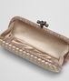 BOTTEGA VENETA MINK INTRECCIATO IMPERO STRETCH KNOT Clutch Woman dp