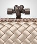 BOTTEGA VENETA MINK INTRECCIATO IMPERO STRETCH KNOT Clutch Woman ep