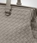 BOTTEGA VENETA TOP HANDLE BAG IN FUME' INTRECCIATO NAPPA Top Handle Bag D ep