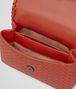 BOTTEGA VENETA BABY OLIMPIA BAG IN GERANIUM INTRECCIATO NAPPA Shoulder Bag Woman dp