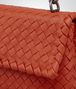 BOTTEGA VENETA BABY OLIMPIA BAG IN GERANIUM INTRECCIATO NAPPA Shoulder Bag Woman ep