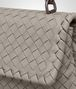 BOTTEGA VENETA BABY OLIMPIA BAG IN FUME' INTRECCIATO NAPPA Shoulder Bag Woman ep