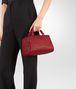 BOTTEGA VENETA CHINA RED INTRECCIATO NAPPA TOP HANDLE BAG Top Handle Bag Woman ap