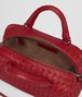 BOTTEGA VENETA CHINA RED INTRECCIATO NAPPA TOP HANDLE BAG Top Handle Bag D dp