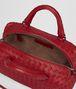 BOTTEGA VENETA CHINA RED INTRECCIATO NAPPA TOP HANDLE BAG Top Handle Bag Woman dp