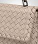 BOTTEGA VENETA MINK INTRECCIATO NAPPA BABY OLIMPIA BAG Shoulder or hobo bag Woman ep