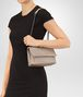 BOTTEGA VENETA BABY OLIMPIA BAG IN MINK INTRECCIATO NAPPA Shoulder Bag Woman lp