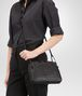BOTTEGA VENETA NERO INTRECCIATO NAPPA LEATHER NODINI BAG  Crossbody bag Woman ap