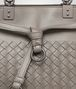 BOTTEGA VENETA STEEL INTRECCIATO NAPPA LEATHER BUCKET BAG Crossbody bag Woman ep