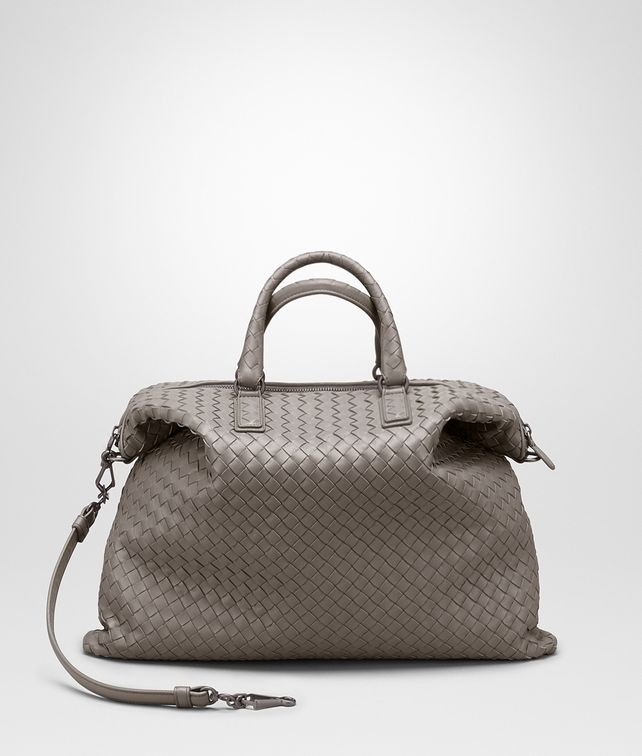 d1f69465f1 BOTTEGA VENETA CONVERTIBLE BAG IN STEEL INTRECCIATO NAPPA Top Handle Bag       pickupInStoreShipping info