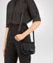 BOTTEGA VENETA NERO INTRECCIATO NAPPA SHOULDER BAG Shoulder Bag Woman ap