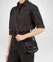 BOTTEGA VENETA SHOULDER BAG IN NERO INTRECCIATO NAPPA Shoulder or hobo bag Woman lp