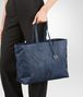 BOTTEGA VENETA PACIFIC INTRECCIOLUSION LARGE TOTE Top Handle Bag D ap