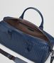 BOTTEGA VENETA MEDIUM DUFFLE BAG IN PACIFIC INTRECCIATO VN Trolley and Carry-on bag E dp