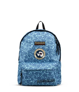NAPAPIJRI VOYAGE PRINTED  BACKPACK,AZURE