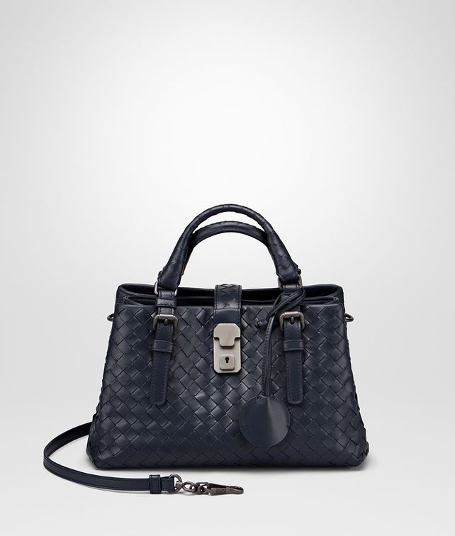 BOTTEGA VENETA PRUSSE INTRECCIATO CALF ROMA BAG Top Handle Bag       pickupInStoreShipping info   e76d5989926e2