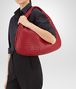 BOTTEGA VENETA VENETA BAG IN CHINA RED INTRECCIATO NAPPA Shoulder Bag Woman ap